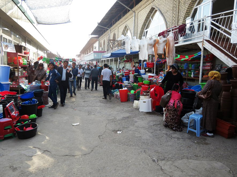 Bazaars of Andijan