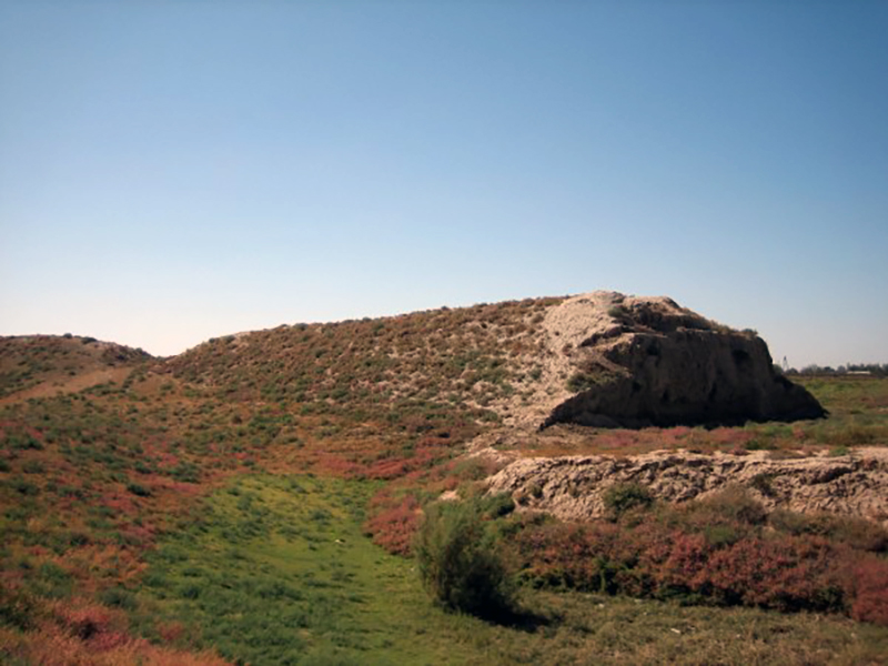 Ancient settlement of Yerkurgan