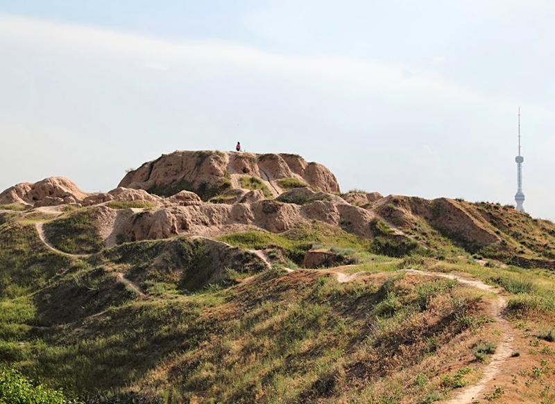 The ancient settlement of Aktepa (Yunusabad)