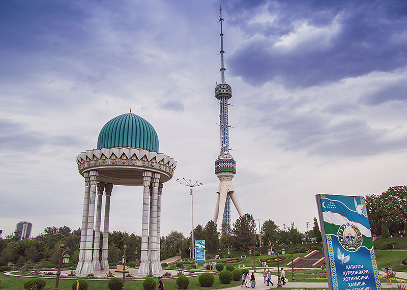 TV Tower in Tashkent