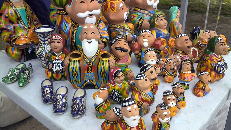 Souvenirs or What to Bring from Uzbekistan
