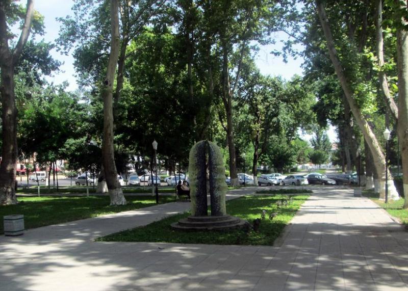 A pottery park