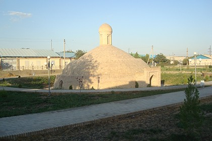 Ancient religious complex in Karshi