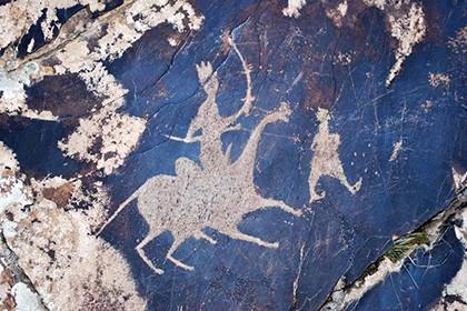 Petroglyphs of Sarmyshsay