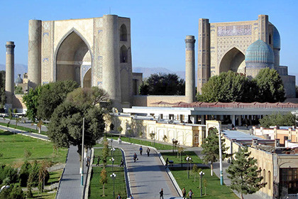 One Day Tour in Samarkand from Tashkent by train