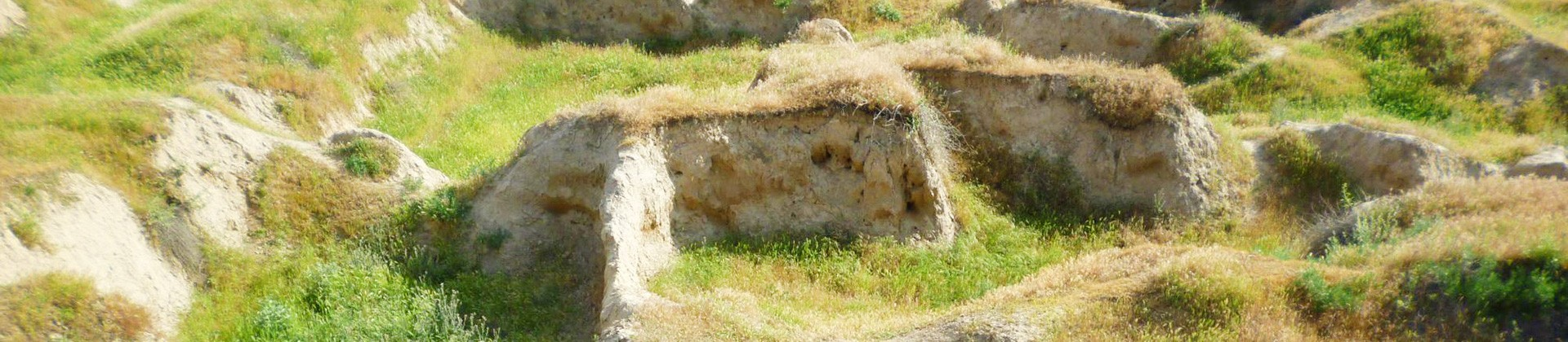 Ruins of Afrasiab Settlement - 1