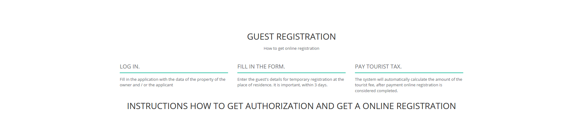 Registration in Uzbekistan - new updated rules - 1