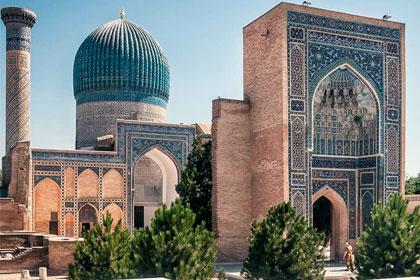 "Mausoleum ""Gur-Emir"""