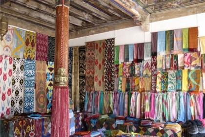 Shopping tour in Ferghana Valley