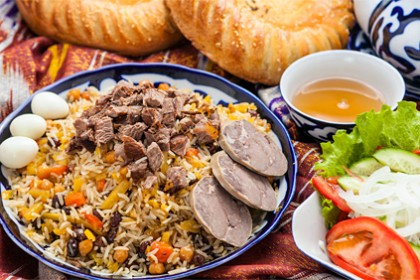 Gastronomic tour to Uzbekistan from Moscow (Lux)