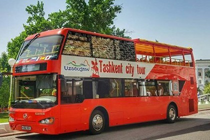"""Tashkent City Tour"" – a one-day excursion on a double-decker bus"