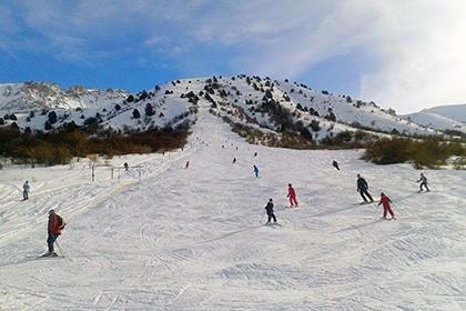 Chimgan Ski Track