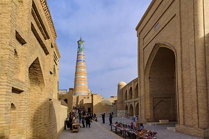 Красочный Узбекистан