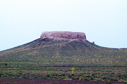Chilpik - Zoroastrian Dahma near Nukus