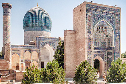 Blue Domes of Samarkand - Tour from St. Petersburg (Premium)