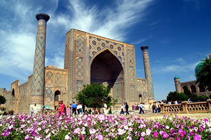 Ташкент-Самарканд-Ташкент на Микроавтобусе
