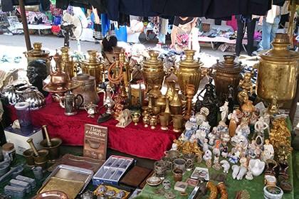 Блошиный рынок «Янгиабад»