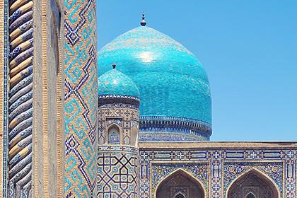 Популярная поездка в Узбекистане