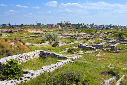 Ruins of the ancient settlement Ershi