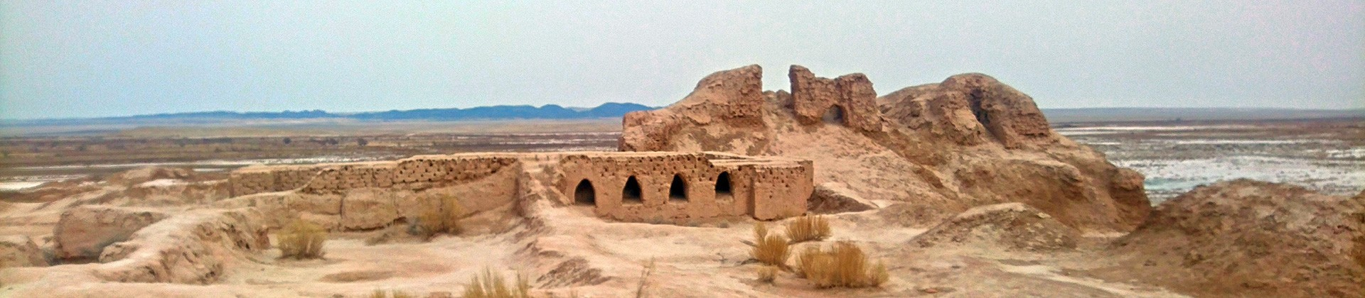 Ruins of ancient Khorezm in the Kyzylkum desert - 6 fortresses - 1