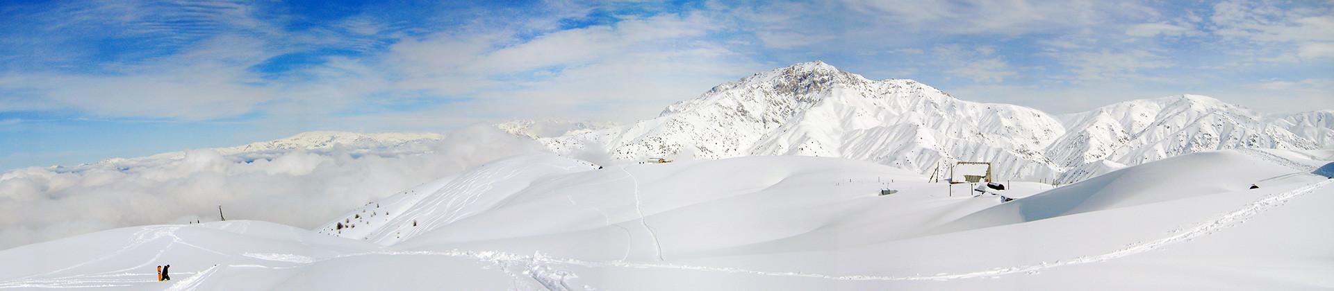 Majestic mountain peaks - 1