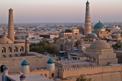 Ancient Khiva - a day in a city on the Silk Road