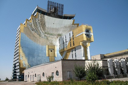 Solar furnace of Uzbekistan (Institute of the Sun)