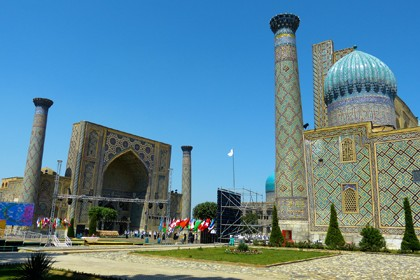 Historical cities in Uzbekistan. Tour from Almaty. Full board (Economy)