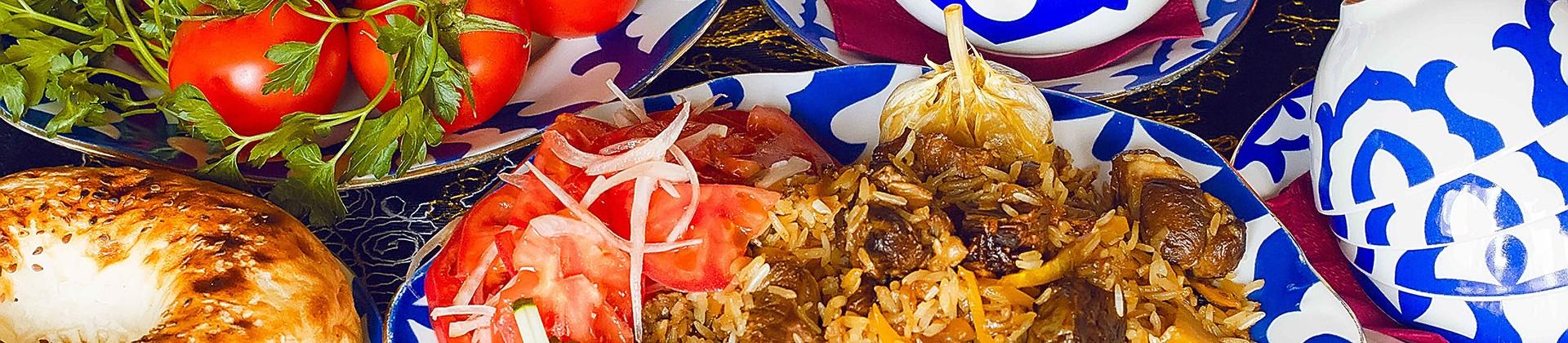 Plov, Somsa, Tandyr Gosht - Main dishes of Uzbekistan - 1