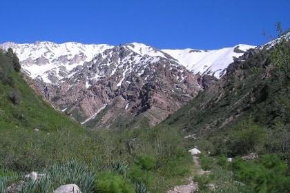Majestic mountain peaks