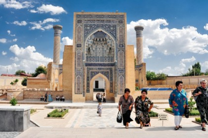 The East Pearl. 5-day tour to Uzbekistan from Moscow (Lux)